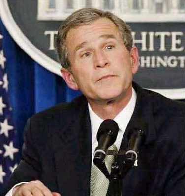 Bush a stalwart fighter against terrorism and a favourite of Patriot.